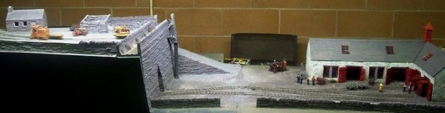 Cwm Hir model railway